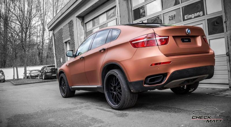 BMW X6 E71 in Braun Metallic by Check Matt Dortmund 5 BMW X6 E71 in Braun Metallic by Check Matt Dortmund
