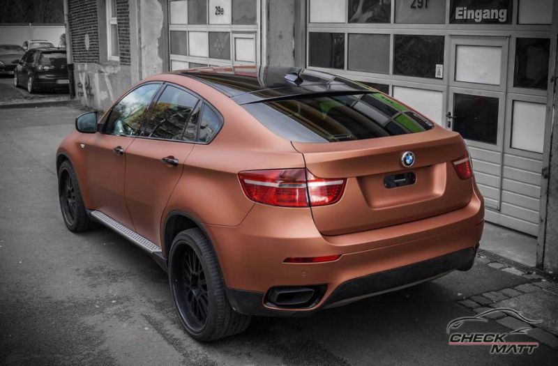 BMW X6 E71 in Braun Metallic by Check Matt Dortmund 7 BMW X6 E71 in Braun Metallic by Check Matt Dortmund