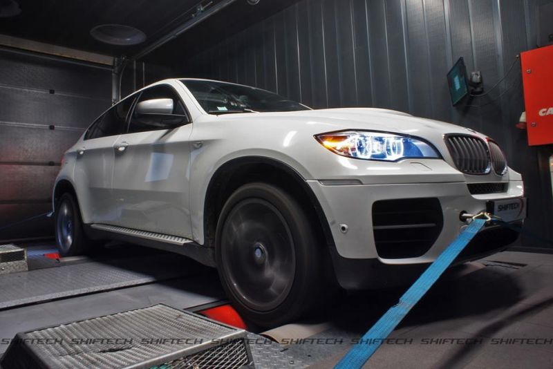 BMW X6 M50D E71 3.0 Tri Turbo Chiptuning 415PS by Shiftech Lyon 1 BMW X6 M50D E71 3.0 Tri Turbo mit 415PS by Shiftech Lyon