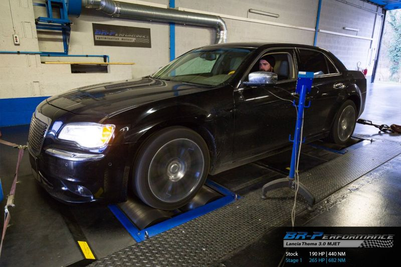 BR Performance Lancia Thema 3.0 MJET Chiptuning 265PS 682NM 1 BR Performance Lancia Thema 3.0 MJET mit 265PS & 682NM