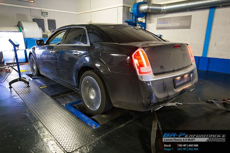 BR Performance Lancia Thema 3.0 MJET Chiptuning 265PS & 682NM 2