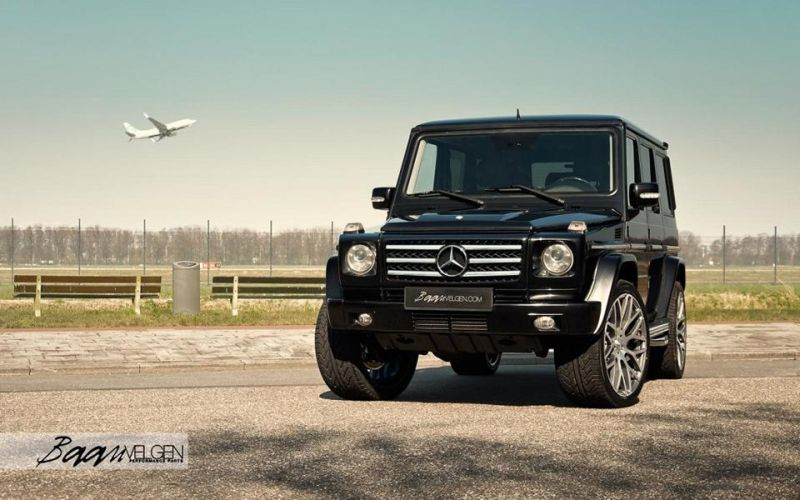 Top Baan Velgen Mercedes G55 Amg With Brabus Parts