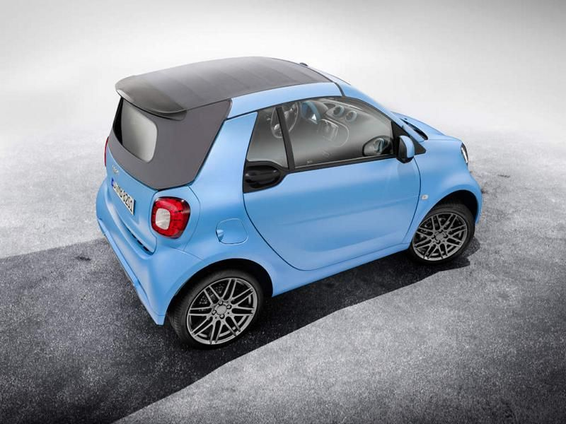 Brabus Limited Smart ForTwo Cabrio & ForFour Tuning 10