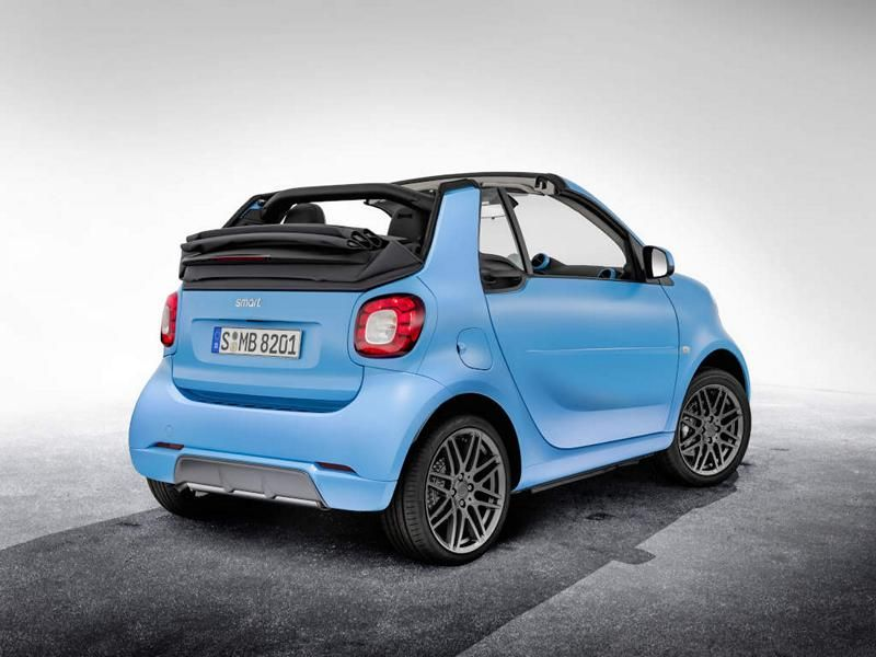 Brabus Limited Smart ForTwo Cabrio & ForFour Tuning 11