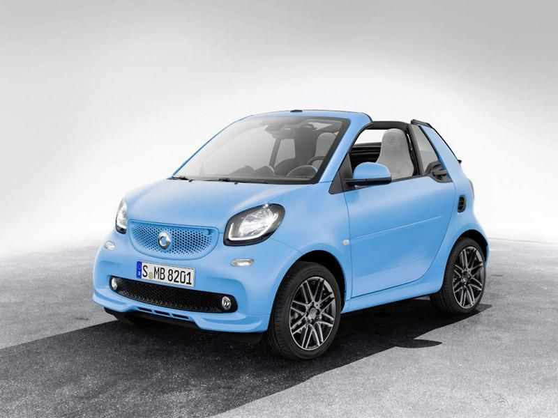 Brabus Limited Smart ForTwo Cabrio & ForFour Tuning 12
