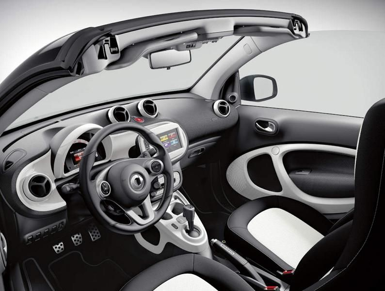 Brabus Limited Smart ForTwo Cabrio & ForFour Tuning 2