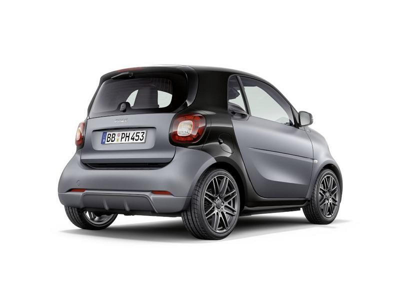 Brabus Limited Smart ForTwo Cabrio & ForFour Tuning 6