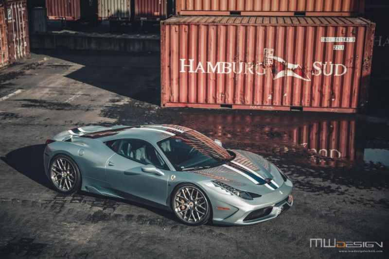Brixton Forged 1 of 1 Tailored Alufelgen Tuning Ferrari 458 Speciale 1 Einmalig   Brixton Forged 1 of 1 Tailored Alu's am 458 Speciale