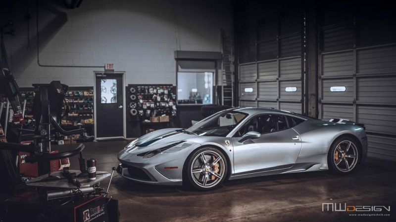 Brixton Forged 1 of 1 Tailored Alufelgen Tuning Ferrari 458 Speciale 10 Einmalig   Brixton Forged 1 of 1 Tailored Alu's am 458 Speciale