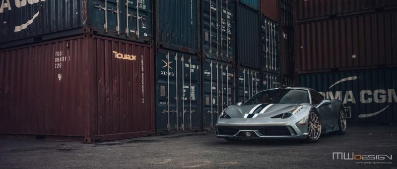 Brixton Forged 1 of 1 Tailored Alufelgen Tuning Ferrari 458 Speciale 6 Einmalig   Brixton Forged 1 of 1 Tailored Alu's am 458 Speciale