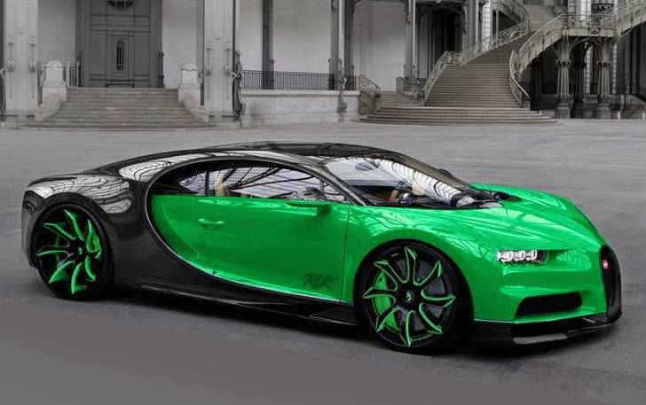 Bugatti Chiron Forgiato Wheels ECL Tuning 1 Rendering: Bugatti Chiron auf riesigen Forgiato Wheels