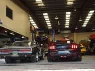 CPC Ford Mustang GT auf 20 Zoll HRE Alu's 5 190x142 Dezent und top   CPC Ford Mustang GT auf 20 Zoll HRE Alu's