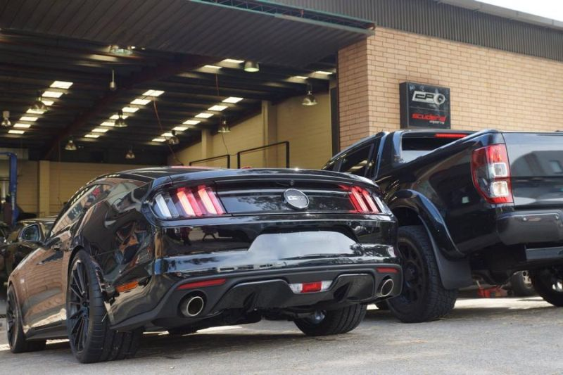 CPC Ford Mustang GT auf 20 Zoll HRE Alu's 8