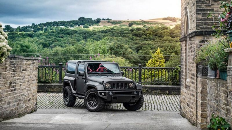 Chelsea Truck Company Jeep Wrangler Black Hawk Edition CJ300 Tuning 2