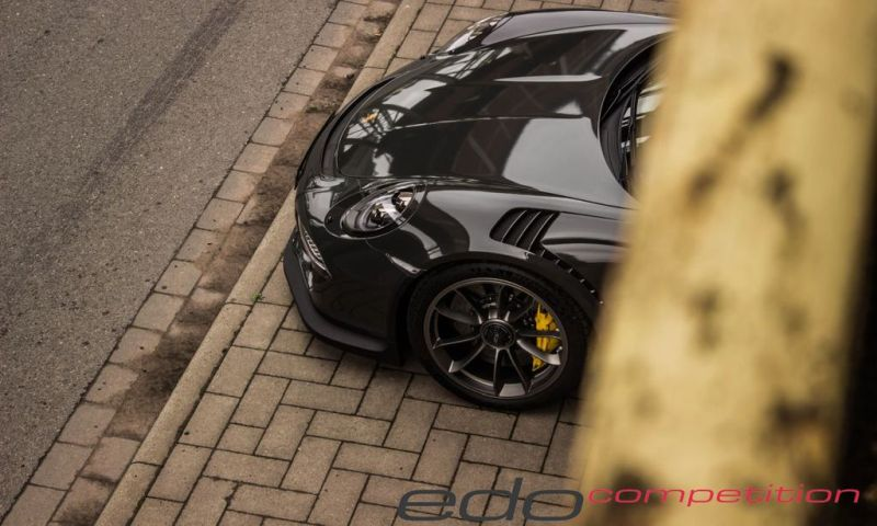 Edo Competition Porsche 911 (1004) GT3 RS in Slate Grey Tuning