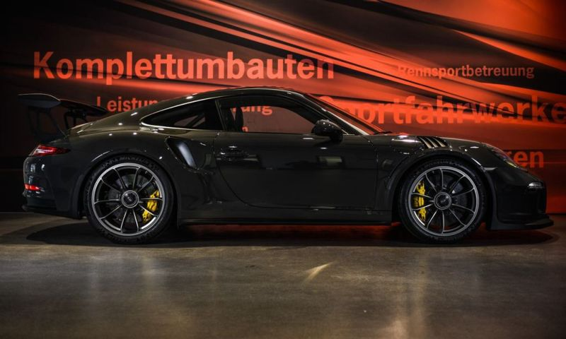 Edo Competition Porsche 911 (1006) GT3 RS in Slate Grey Tuning