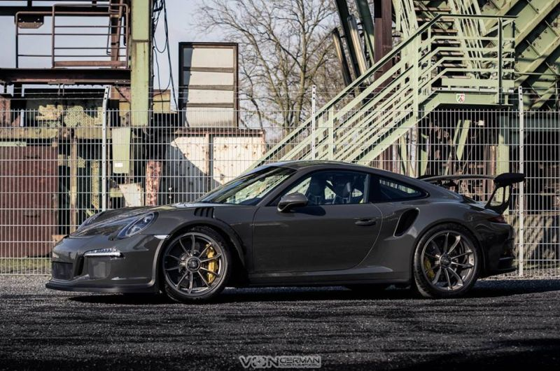 Edo Competition Porsche 911 (991) GT3 RS in Slate Grey 1
