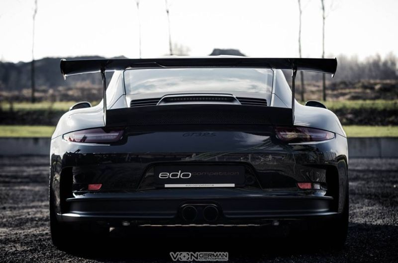 Edo Competition Porsche 911 (991) GT3 RS in Slate Grey 2