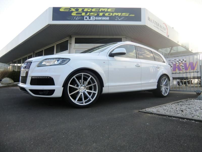 Extreme Customs Germany Audi Q7 22 Zoll Vossen VFS1 1