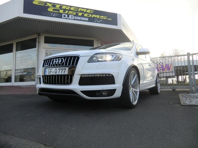 Extreme Customs Germany Audi Q7 22 Zoll Vossen VFS1 2