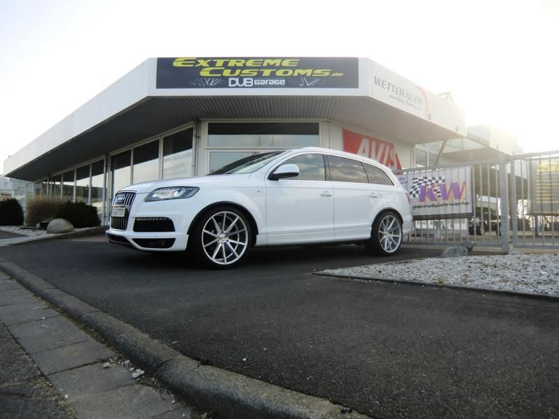 Extreme Customs Germany Audi Q7 22 Zoll Vossen VFS1 3