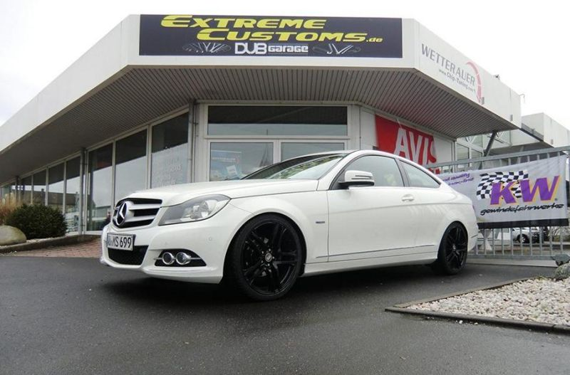 Extreme Customs Germany Mercedes C Coupe MAM Felgen Tuning 3 Dezent   Extreme Customs Germany Mercedes C Coupe