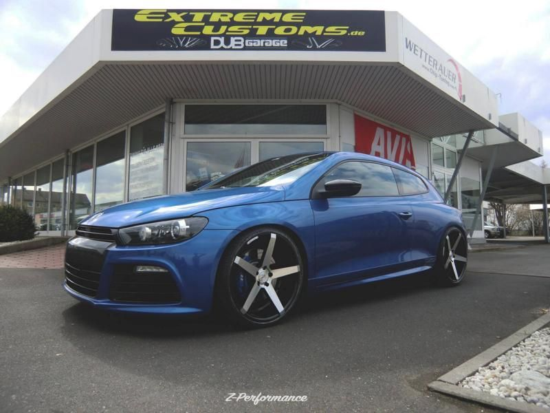 Extreme Customs Germany VW Scirocco R 20 Zoll ZP6.1 Alu Tuning 1 Extreme Customs Germany   VW Scirocco R auf 20 Zoll