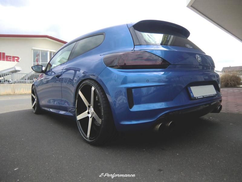 Extreme Customs Germany VW Scirocco R 20 Zoll ZP6.1 Alu Tuning 2 Extreme Customs Germany   VW Scirocco R auf 20 Zoll