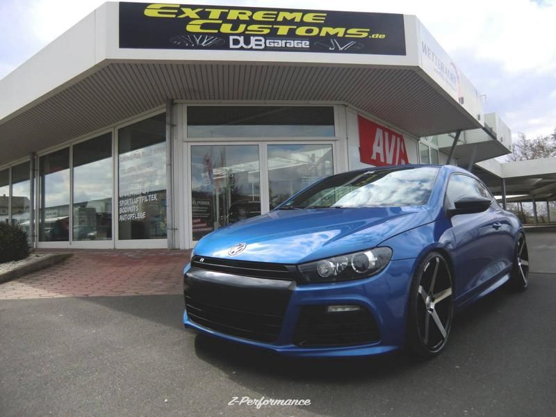 Extreme Customs Germany VW Scirocco R 20 Zoll ZP6.1 Alu Tuning 4 Extreme Customs Germany   VW Scirocco R auf 20 Zoll