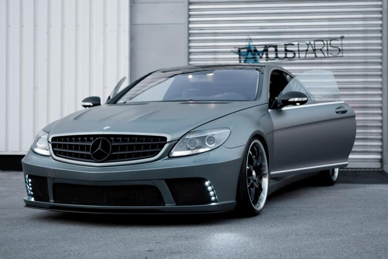 Famous Parts Prior Bodykit Mercedes Benz CL63 AMG C216 Tuning 6 Famous Parts Mercedes Benz CL63 AMG mit Prior Bodykit
