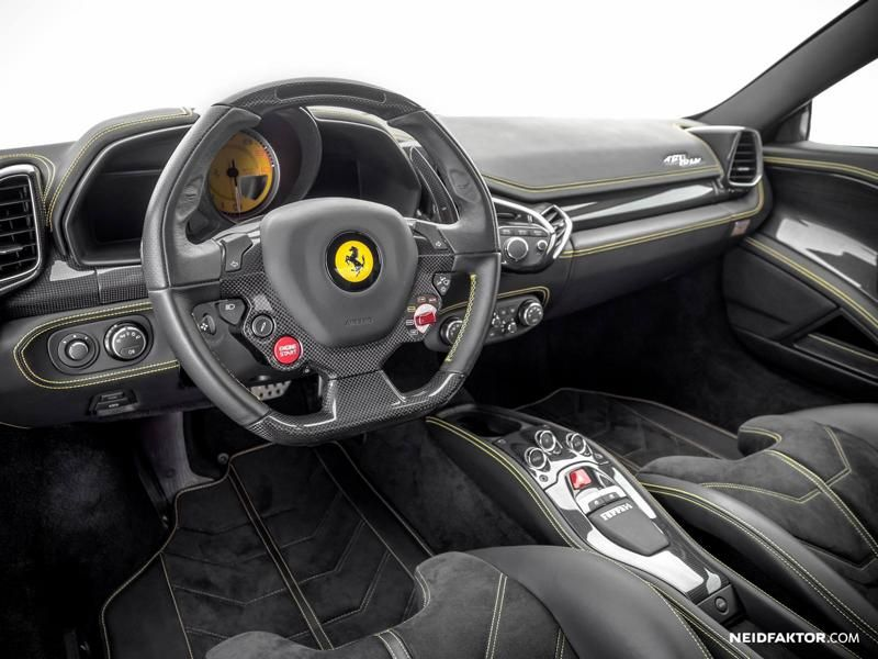 Ferrari Italia 458 Interior Tuning Envy Factor 1 458 In Perfection Ferrari  Italia Interior By Envy