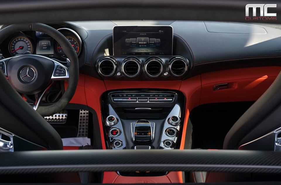 Forgiato Wheels Alufelgen Mercedes AMG GTs in Schwarz Tuning 9 Forgiato Wheels Alufelgen am Mercedes AMG GTs in Schwarz