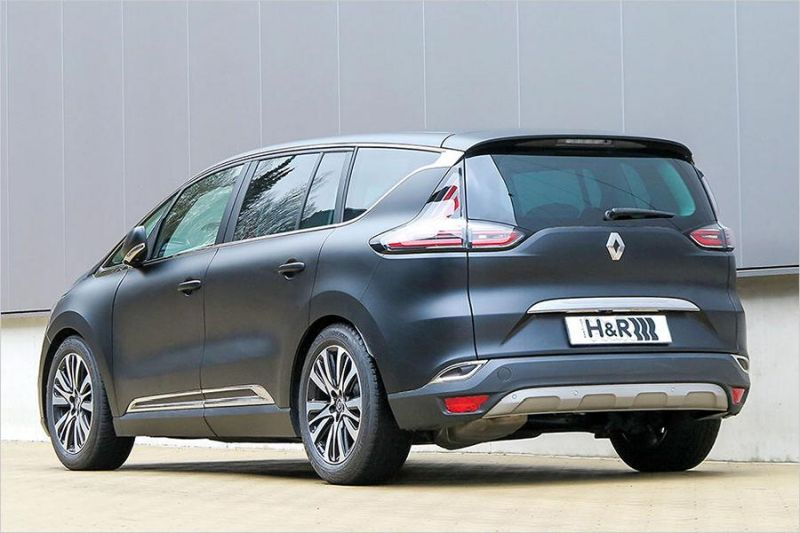 H Amp R Creates The New Renault Espace To 35mm Deeper