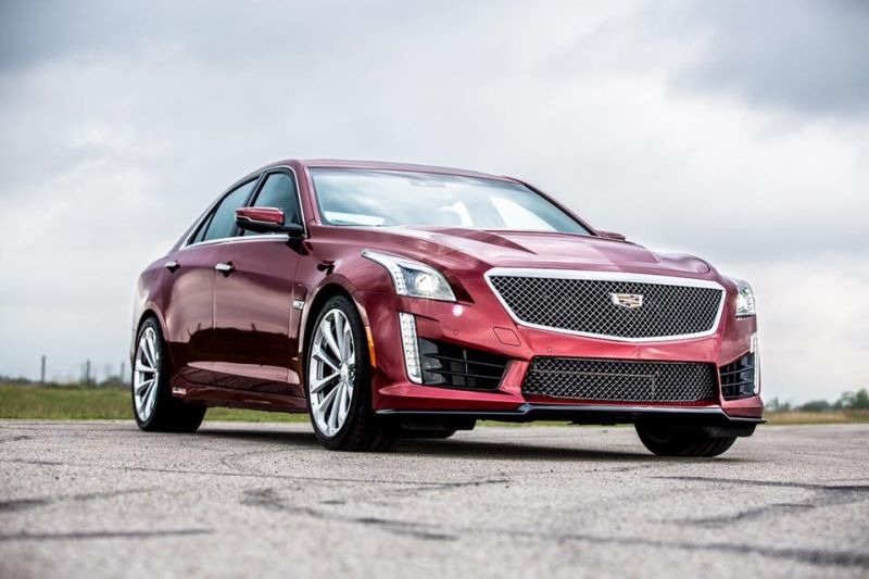 Hennessey Performance HPE750 Kit 2016er Cadillac CTS V 1 Hennessey Performance HPE750 /HPE800 Kit im 2016er Cadillac CTS V