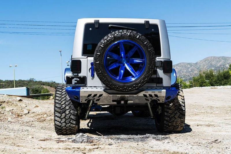 Jeep Wrangler Forgiato Esporre Wheels Tuning 6 Mega Offroader   Jeep Wrangler auf Forgiato Wheels Alu's