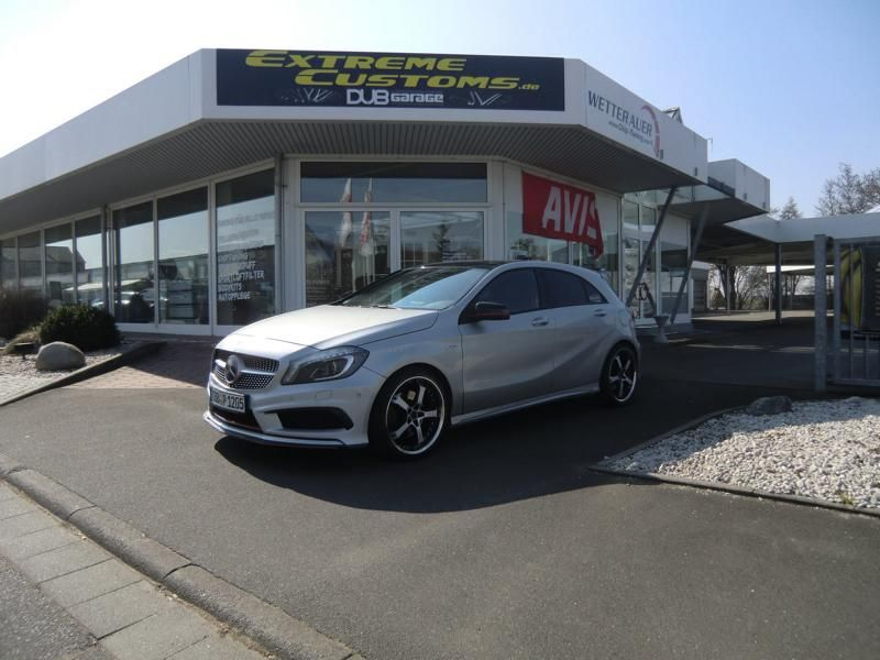 Keskin KT10 19 Zoll Mercedes-Benz A250 Sport by Extreme Customs Germany 2
