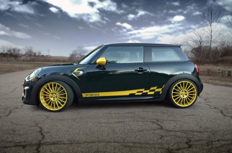 Kracher Manhart F56 Mini John Cooper Works F300 Tuningblog Eu