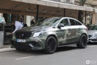 Mansory Camouflage Mercedes AMG GLE 63 S Coupe Tuning 4 190x127 840PS Mansory Mercedes AMG GLE63 Coupe