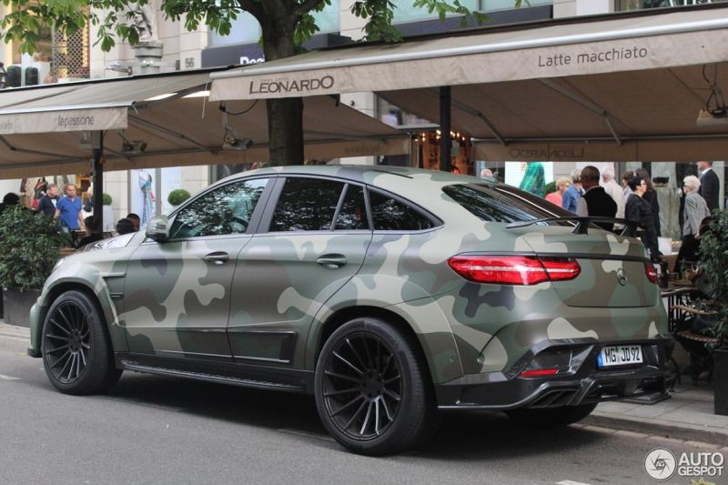 Mansory Camouflage Mercedes Amg Gle 63 S Coupe Tuning 6