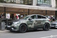 Mansory Camouflage Mercedes AMG GLE 63 S Coupe Tuning 8 190x127 840PS Mansory Mercedes AMG GLE63 Coupe