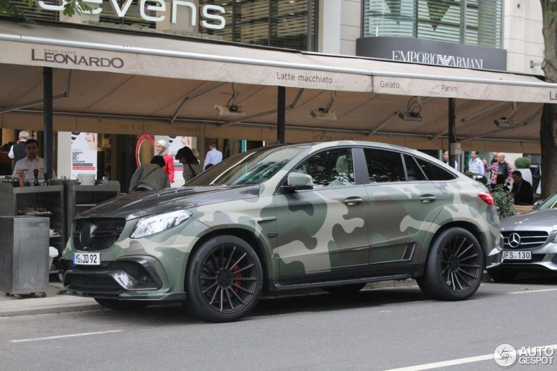 Mansory Camouflage Mercedes Amg Gle 63 S Coupe Tuning 8