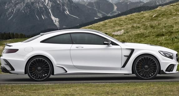 Mansory Mercedes Benz S63 AMG Coupe Platinum Edition 2 Mansory Mercedes Benz S63 AMG Coupe Platinum Edition