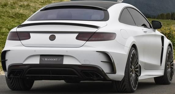 Mansory Mercedes Benz S63 AMG Coupe Platinum Edition 3 Mansory Mercedes Benz S63 AMG Coupe Platinum Edition