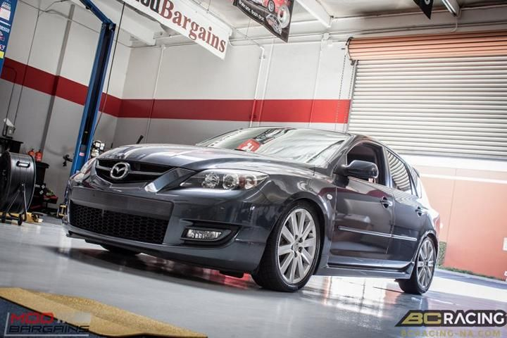 mazda 3 mps bc fahrwerk tuning modbargains 3 tuningblog. Black Bedroom Furniture Sets. Home Design Ideas