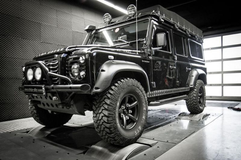 Mcchip DKR LandRover Defender 2.2 TD4 154PS 424NM Chiptuning 1 Mcchip DKR LandRover Defender 2.2 TD4 mit 154PS & 424NM
