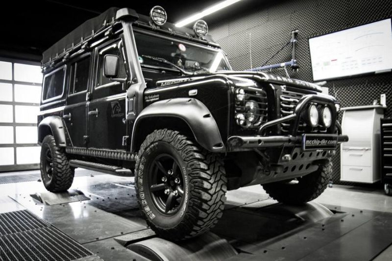 Mcchip DKR LandRover Defender 2.2 TD4 154PS 424NM Chiptuning 2 Mcchip DKR LandRover Defender 2.2 TD4 mit 154PS & 424NM