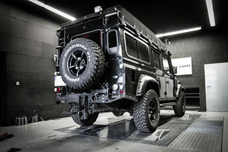 Mcchip DKR LandRover Defender 2.2 TD4 154PS 424NM Chiptuning 3 Mcchip DKR LandRover Defender 2.2 TD4 mit 154PS & 424NM