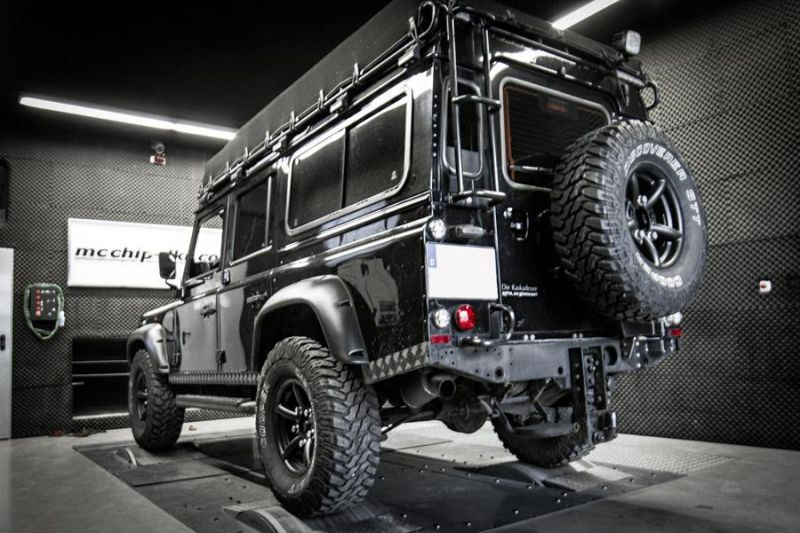 Mcchip DKR LandRover Defender 2.2 TD4 154PS 424NM Chiptuning 4 Mcchip DKR LandRover Defender 2.2 TD4 mit 154PS & 424NM
