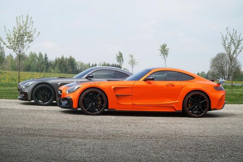 Mercedes-AMG GTs Tuning by Mansory (2)