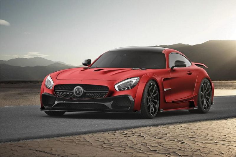 Mercedes-AMG GTs Tuning by Mansory (4)